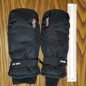Black Gore Tex mittens
